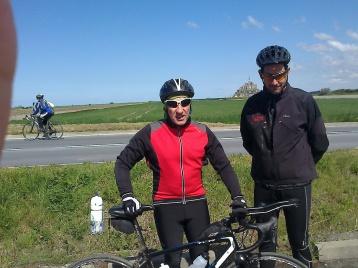 Cyclisme avril 2016 Bagnoles-de-l'Orne/Mont Saint-Michel