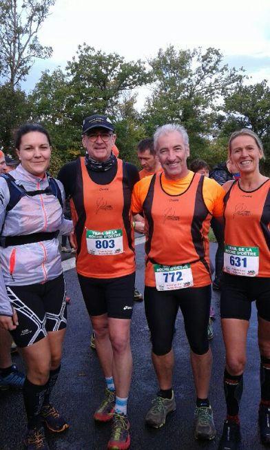 Course à pied octobre 2016 Trail de la Roche d'Oêtre