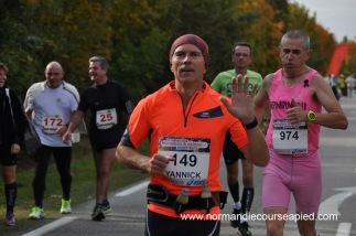 Course à pied octobre 2016 Marathon Val-de-Reuil