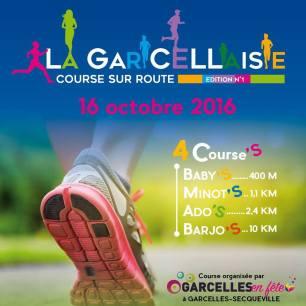 Course à pied octobre 2016 Garcellaise - Garcelles-Secqueville