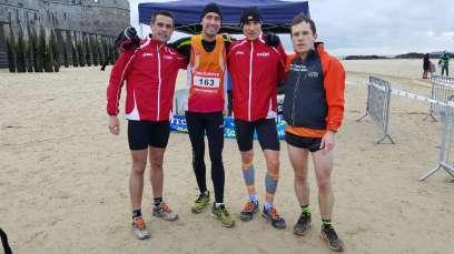 Course à pied février 2017 critérium UNASAT cross country Saint-Malo