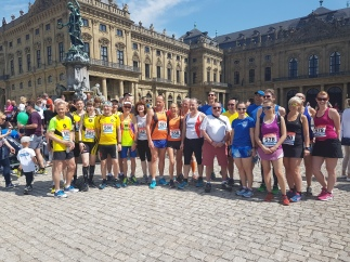 Course à pied avril 2018 Wurzburg