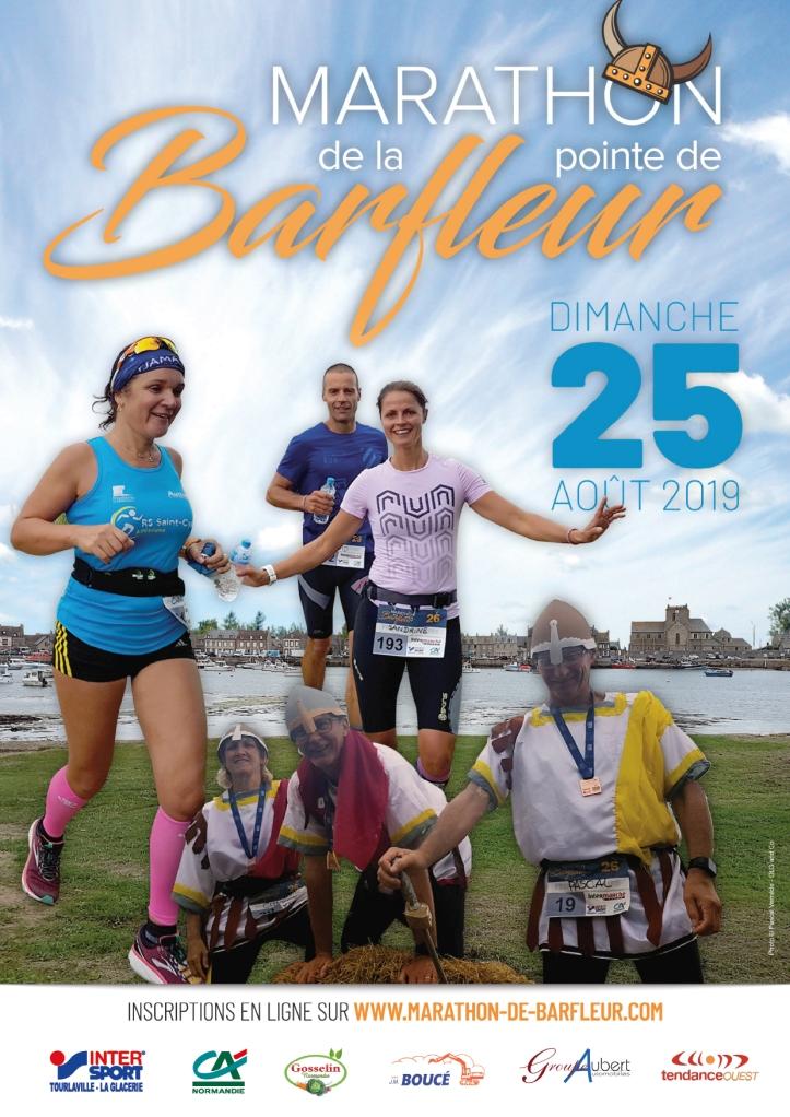 Course à pied août 2019 Marathon de la Pointe de Barfleur