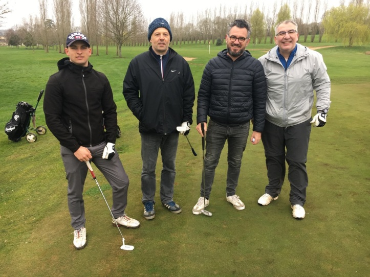 Golf mars 2019 Nico et Bertrand au golf de Saint-Julien